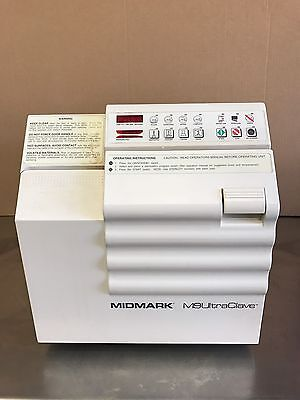 Midmark M9 Ultraclave Dental Autoclave Sterilizer for Instruments w/4 Trays