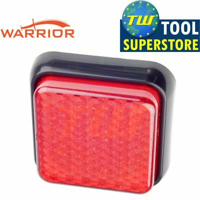 Bright Red Auxiliary LED Rear Tail Fog Lamp Light Unit Trailer Board Indicator