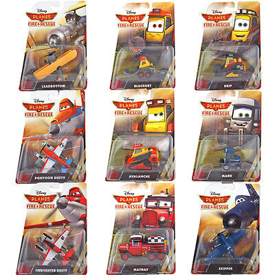 Mattel Planes 2 Cars Disney, Wings, Fire Rescue Original New Toys 1:55 scale