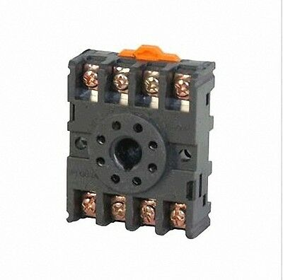 10pcs 8-Pin PF083A Relay Base Socket For Time Relay