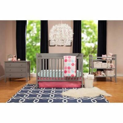 Baby Furniture Sets Crib and 3 Drawer Dresser With BONUS Changing Table Complete
