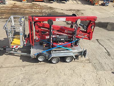17M Tracked Access + Trailer Hire, Self Drive Cherry Picker Spider Lift Kent