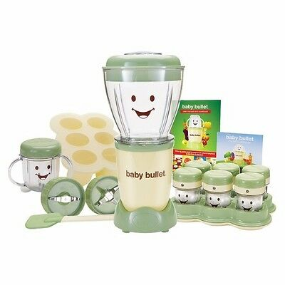 Magic Bullet Baby Bullet Care System blender storage 20 piece kit (NEW)