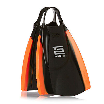 Hydro Tech 2 Black/orange Bodyboard Fins