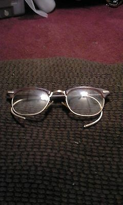 Vintage Shuron 12K Gold Filled Wire Rim Glasses