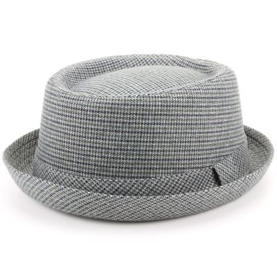 Tweed Pork Pie Hat Band Brim New Retro Hawkins Vintage Ska Round Crown
