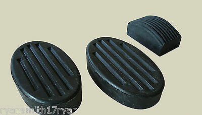 Morris Minor 1000 Brake,clutch & Accelerator Pedal Rubbers Aca5359 Gpr105 2Ga3