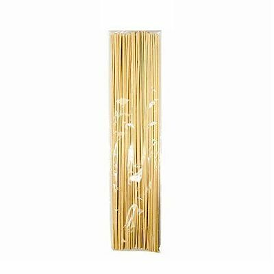50 Wooden Bamboo Plant Sticks 40cm Garden Canes Plants Support Flower Stick Cane