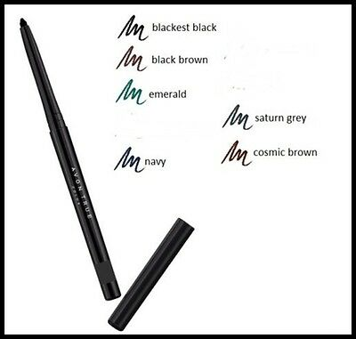 Avon Automatic  Eyeliner Eye Pencil True Color - Soft Glide, Tug-Free Formula