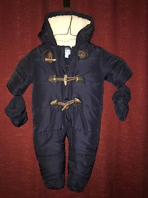 Children's Place Navy Baby Snow Suit 3-6 Month