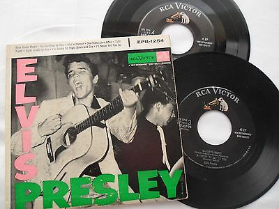ELVIS 1956 EPB 1254__***AD BACK***__ Elvis Presley EP / 45__REALLY NICE!!