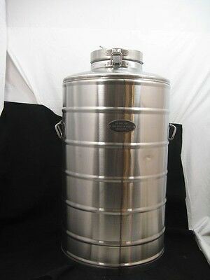 Super Chef Stainless Steel Mil-10  10 Gallon Beverage Container  185 Series
