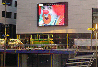 led outdoor screen 2x 2.8m display for advertising digital Billboard Sign P8