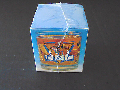 Seagrams Vo Commemorative Glass Saluting The 1992 Summer Olympics - Nib