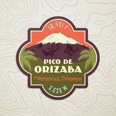 Pico de Orizaba Decal Sticker