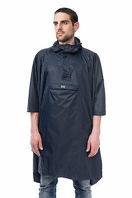 Mac In A Sac Unisex Waterproof Packable Poncho Khaki