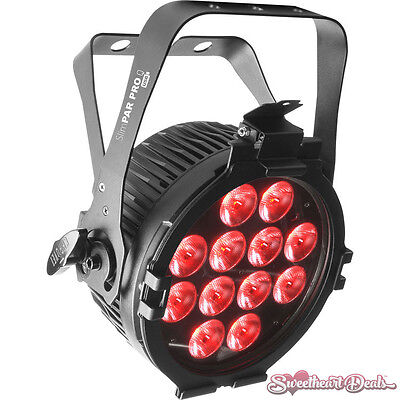 Chauvet DJ SlimPAR Pro Q USB - Wireless DMX RGBA LED Wash Light Club Stage