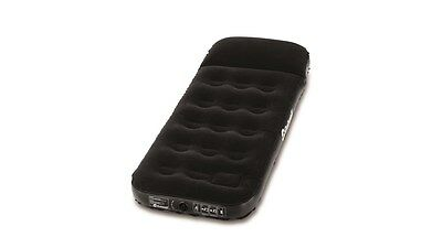 Outwell Flock Classic Single Air Bed with Pillow and Pump -