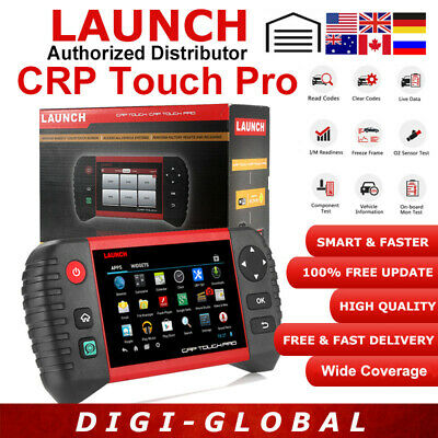 Newest Launch CRP Touch Pro Auto Systems Diagnostic Tool SAS EPB DPF TPMS Update