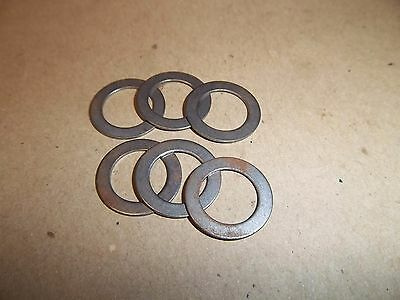 Triumph T120 T140 T150 T160 Rocker Spindle Thrush Washer Set (6) 70-1575