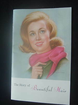 """Breck 1950s booklet """"The Story of Beautiful Hair"""" - styles, cuts, perms, etc."""