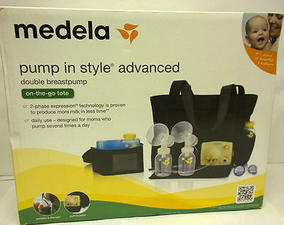 Medela Pump in Style Advanced Breast Pump with On the Go Tote NEW Sealed