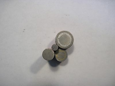 Lot of 4 Precision Cylindrical Fixture Magnets Toolmaker Machinist