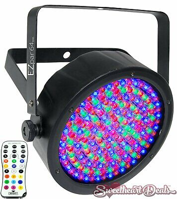Chauvet DJ EZpar 64 RGBA Battery-Powered Wash Light for the Club Stage