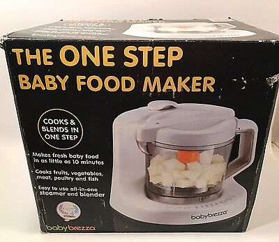 New BABY BREZZA THE ONE STEP BABY FOOD MAKER THAT EVERY NEW MOTHER SHOULD HAVE