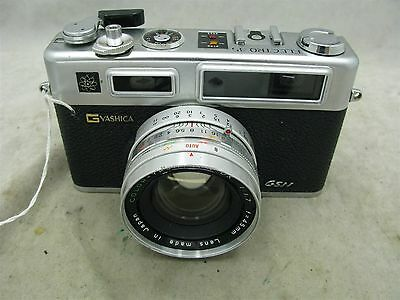 Yashica Electro 35 G GSN Rangefinder with 45mm f1.7 lens and Case  Works ID 8708