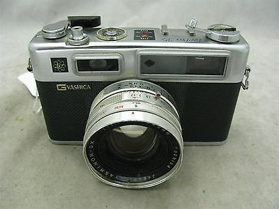 Yashica Electro 35 G  Rangefinder with 45mm f1.7 lens and Case  Works ID 8724