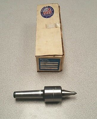 Royal products 10603 Tri-bearing live center 3 morse taper with box