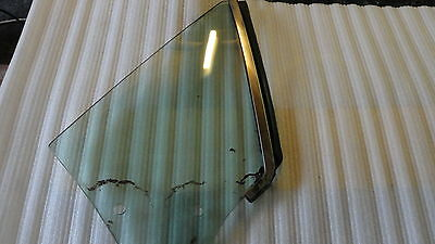 1971 - 1973 Ford Mustang Rh Quarter Window Glass Tinted Convertible