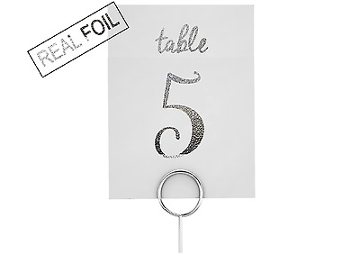 TABLE NUMBERS / Copper Wedding Sign / Gold Numbers / Silver wedding decor prints
