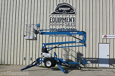 2007 Genie TZ32/20 Articulating Lift