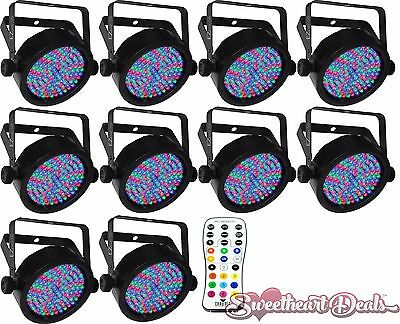 10-Pack - Chauvet DJ EZpar 56 Battery Powered Washlight with IRC - Club Stage