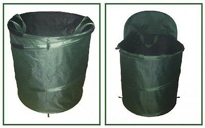 Garden rubbish bag 152 L with Bucket function Sack Leaf collector