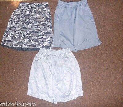 mens lot of 3 medium athletic shorts Everlast reversible CSG champs