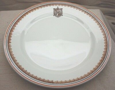 Vintage 1950 Southern Hotel Louisiana Restaurant China Dinner Plate