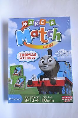 Thomas & Friends Make A Match Game New Sealed