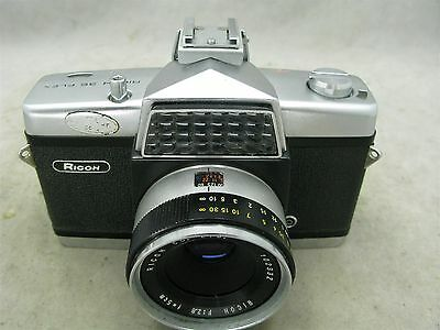 "Ricoh ""35"" Flex 35mm SLR Camera with Case"