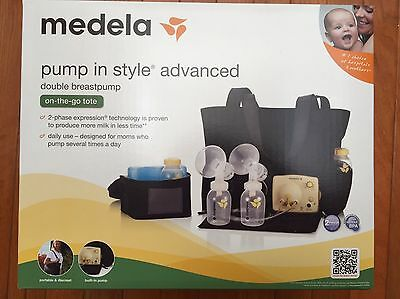 NEW & SEALED Medela Pump In Style Advanced Double Breastpump w/ On the Go Tote