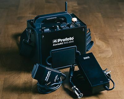 Profoto AcuteB2 600 Airs/R LiFe Lithium-Ion Pack and Modeling Light Adapter 85W