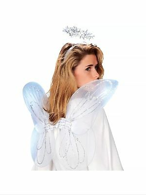 Angel Wings & Halo Adult Size Dress up Costume accessory