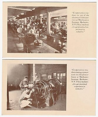RARE Postcard Set of 6 - Rochester Athenaeum and Mechanics Institute RIT NY 1926