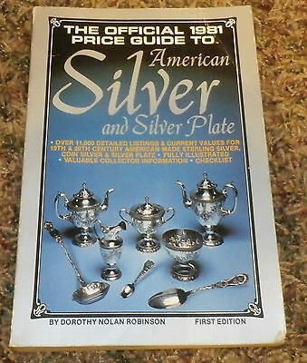 First Edition Price Guide American Silver And Silver Plate