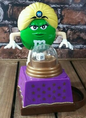 M&M Chocolate Candies Green Lady M&M Candy Fortune Teller Candy Dispesner 2008