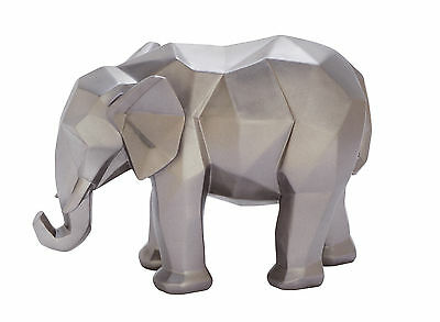 """GwG Outlet Polystone Elephent Sculpture 11""""W, 8""""H 79961"""