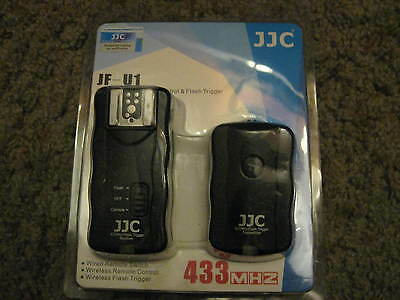 JJC 30m Wireless Remote 16 Channel Trigger for Camera and Flash Receiver JF-U1
