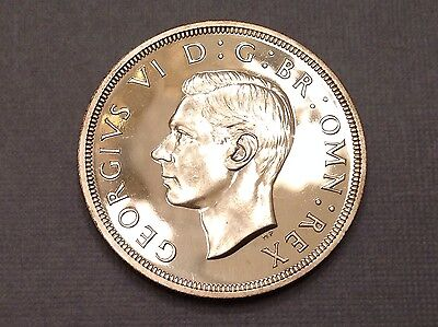 - 1937 Great Britain One Crown Choice Proof George VI Coronation Issue